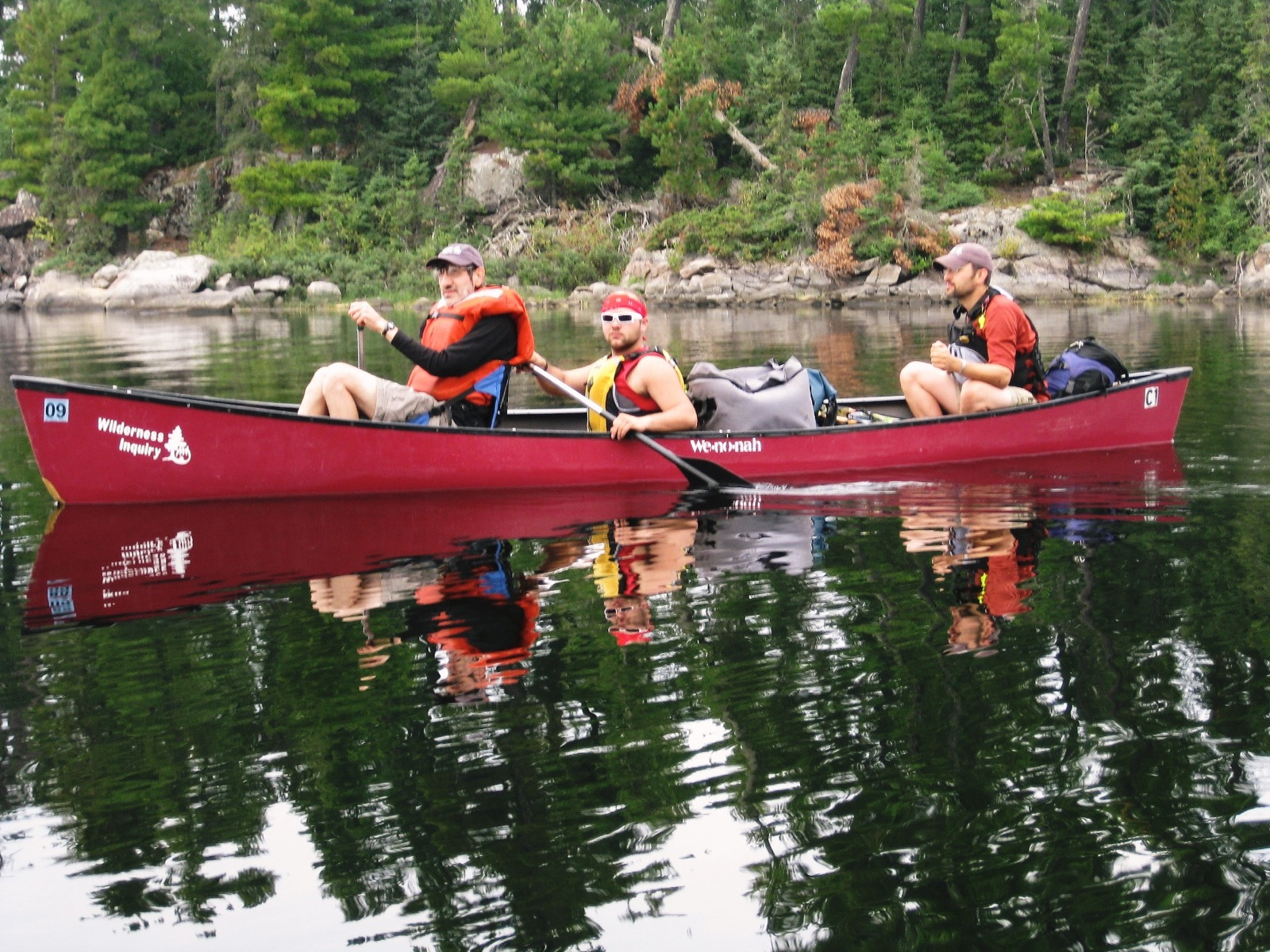 Adirondacks Wilderness Canoe