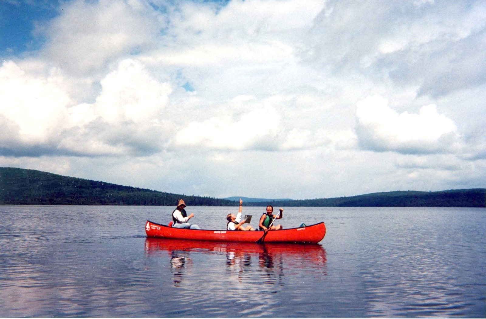 Allagash Wilderness Waterway Canoe