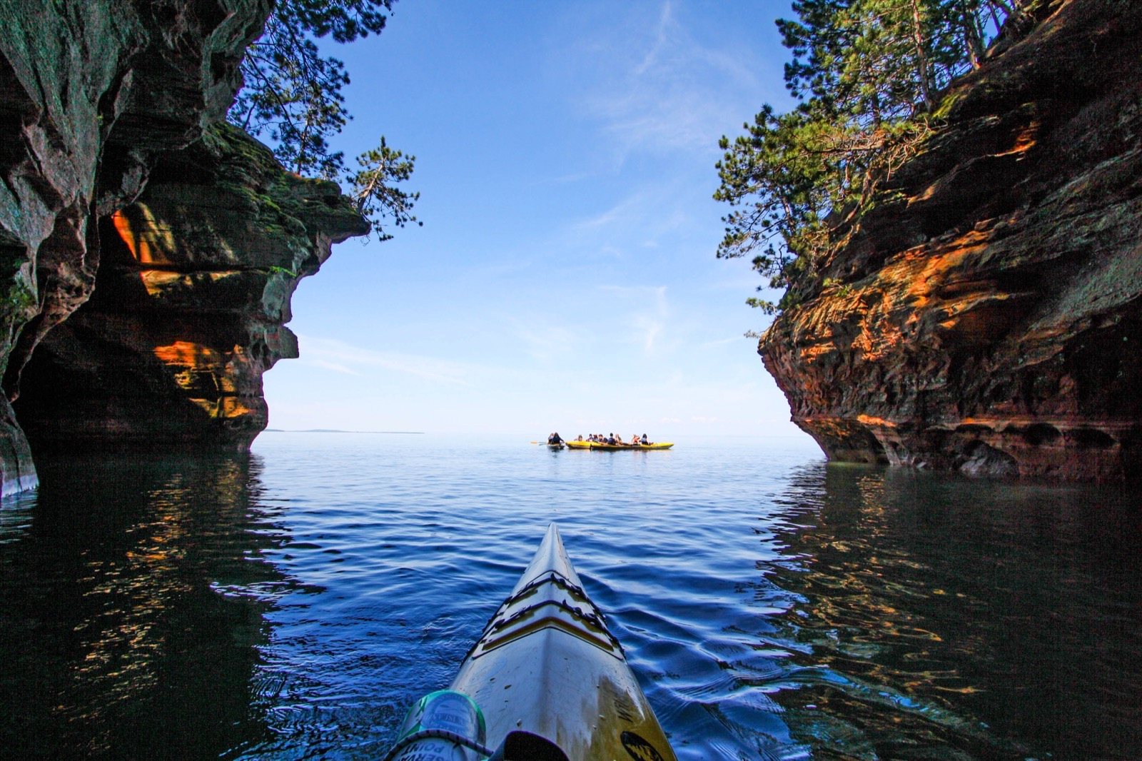 apostle islands paddle  pinot  and porter