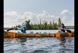 Boundary Waters Canoe Area Paddle Adventure dates and details button