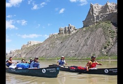 Montana's Missouri River Family Canoe dates and details button
