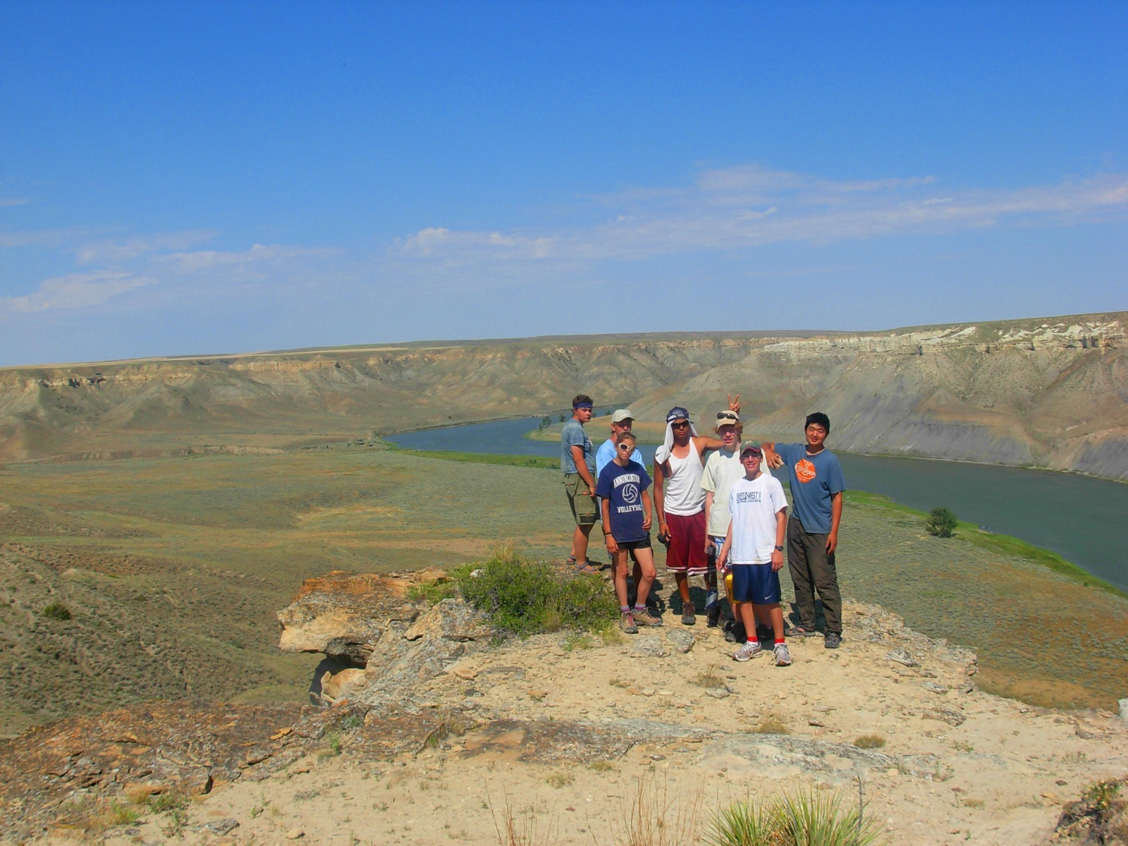 Montana's Missouri River Youth Canoe
