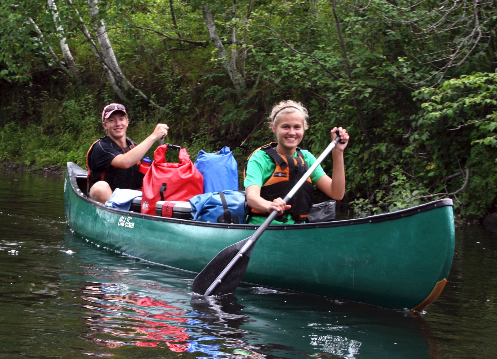 Namekagon River Canoe – Youth