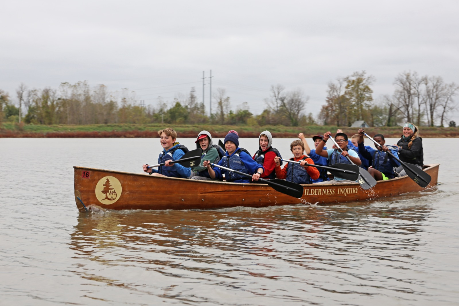Maplewood-Richmond Heights Middle School paddling