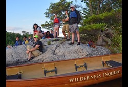 Voyageurs National Park Canoe dates and details button