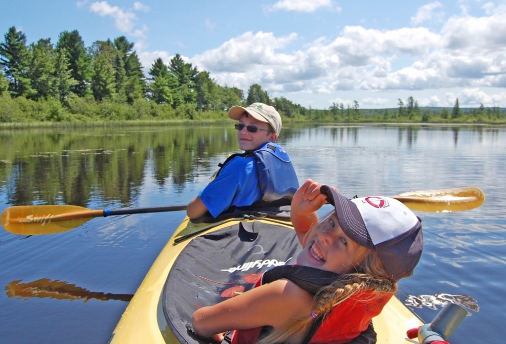 Apostle Islands Family Paddle and Hike