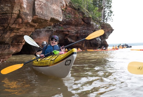 Apostle Islands Paddle, Pinot, and Porter
