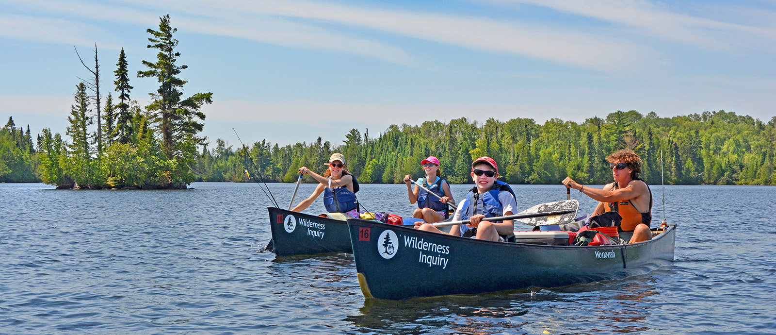 Boundary Waters Family Canoe and Hike