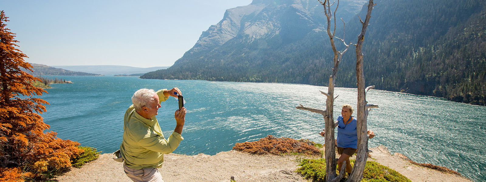 Glacier National Park Lodge-Based Hike and Explore
